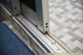 image titled remove sliding glass shower doors step 1