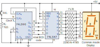 bcd counter circuit using the 74ls90 decade counter Wiring Diagram For Counter 74ls90 bcd counter circuit wiring diagram for intermatic sprinkler timer