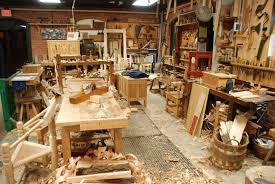 as you can see the shop is full of furniture in progress autumn furniture
