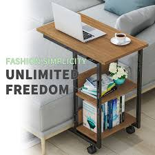 Multi functional Moveable <b>Coffee Table 3 Tier</b> Storage Table Mobile ...