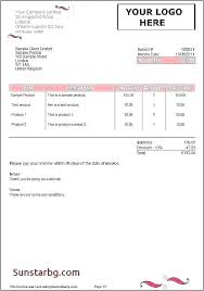 Payment Terms Template Invoice Payment Terms Example Of An