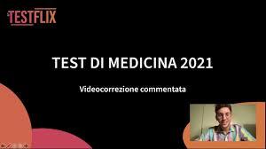 Videocorrezione Test Medicina 2021 - YouTube
