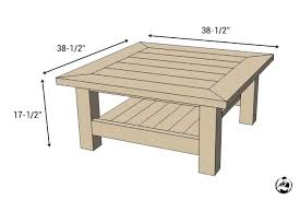 average coffee table sizes pallet dimensions international standard throughout size round coff