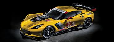chevrolet corvette 2017. exterior view of the chevrolet corvette c7r race car 2017
