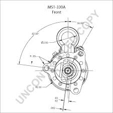 Ms1 330a front dim drawing