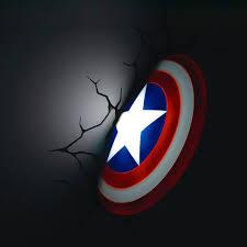 captain america 3d wall art nightlight on 3d wall art nightlight with captain america 3d wall art nightlight 3d wall art 3d wall and