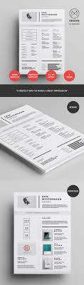 Creative Resume Design 24 Creative Resume Templates To Land A New Job In Style 23