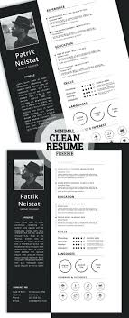 Free Simple Resume Template Creative Graphic Designer Examples
