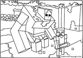 Small Picture MINECRAFT Coloring Pages Free Printable
