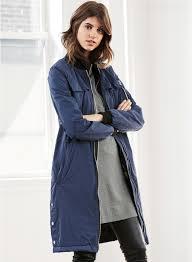 a huge selection of womens winter jackets fashion next longline er jacket 8 gvkiy