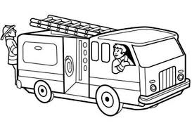 Small Picture Get This Printable Fire Truck Coloring Page for Kids 5181