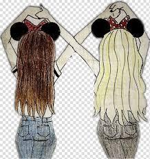 friendship day hair together best