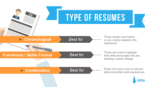 Which Resume Format Should I Use Empire Resume Career Services