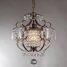 antique bronze indoor crystal chandelier