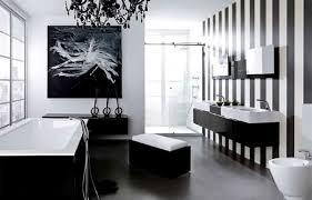 Black And White Bathroom Designs Custom Inspiration Design