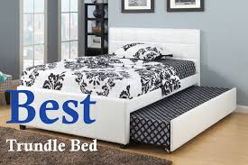Full size furniture unique furniture Leather Best Trundle Bed Full Size Daybed Pop Up Trundle Bed Daybed With Wayfair 10 Best Trundle Beds 2018 Value For Money Indepth Review