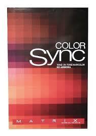 Matrix Colorsync Hair Color Sync 5 Minute Fast Toners You