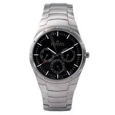 watches 596xltxm mens titanium multifunction watch skagen watches 596xltxm mens titanium multifunction watch
