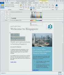 How To Create An Email Template In Outlook 2010 How To Make An Email Template For Outlook Newsletter Creator 2010