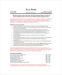 Functional Resume Template Word Simple 48 Sample Resumes In Word Sample Templates
