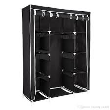 portable closet wardrobe clothes rack storage organizer with shelf clothes rack storage organizer with shel with 33 87 piece on jiaozongxiao668 s