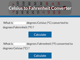 Fahrenheit To Celsius Chart Calculator Celsius To Fahrenheit Converter Lovetoknow