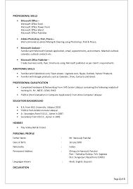 resume chirag panchal