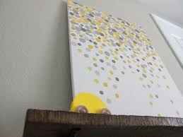 image of easy diy wall art painting