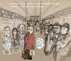 confessions of a ballerunner essays on sports arts culture  cartoon health messaging is all around us