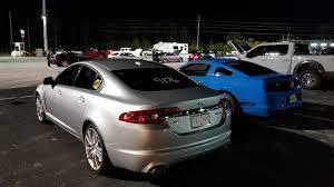 Stock 2010 Jaguar XF 5.0 Supercharged 1/4 mile Drag Racing ...
