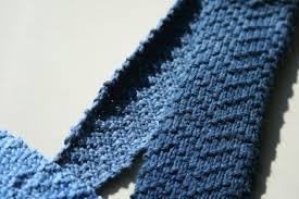 Knit Tie Pattern