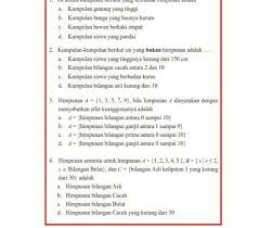 .indonesia kelas 7 smp/mts diterangkan mulai dari sd, smp, atau sma , mts, ma dan smk lengkap dengan jawaban serta pembahasannya. Kunci Jawaban Matematika Kelas 7 Semester 1 Hal 185 Guru Galeri