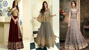 Gown Design Latest 2019 New Gown Designs 2019 Latest Party Wear Gown Latest Gown