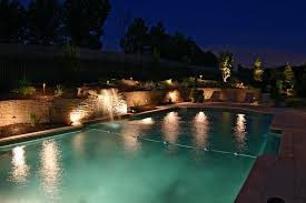 pool waterfall lighting. Stunning Swimming Pool Design With Lighting Ideas And Waterfall S