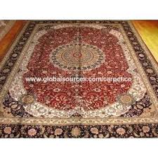 china antique blue handmade silk whole persian rugs for uk