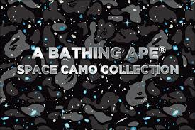 Bape Pattern New A BATHING APE SPACE CAMO COLLECTION Usbape