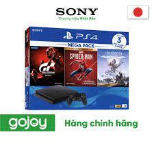 Mã ELMALL1M giảm 6% đơn 1tr] COMBO Máy chơi game PS4 Slim 1TB Mega Pack  CUH-2218B MEGA3 -Bảo hành 12 tháng chính hãng chính hãng