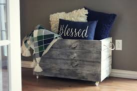 how to build a diy wooden crate for extra storage at home throughout on wheels ideas 15