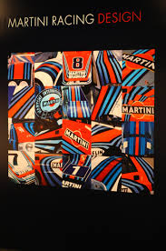 martini  on martini and rossi wall art with martini racing at museo dell automobile