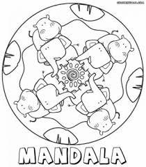 Mandala Coloring Pages Printable Free Coloring Sheets