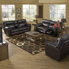 Reclining Living Room Furniture Sets Catnapper Nolan Leather Reclining Sofa Set Godiva Sofas