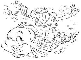 Small Picture Disney Under The Sea Coloring Pages Coloring Pages
