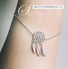 Dream Catcher Charm Bracelet Custom Dreamcatcher Charm Bracelet For Women Fashion Feather Dream Catcher