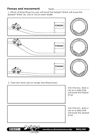 BBC - Schools Science Clips - Forces and movement Worksheet | For ...