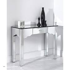modern glass console tables inspirational mirrored romano table new