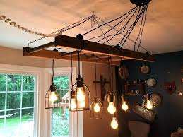 rustic kitchen light fixture lighting chandeliers fixtures wrought iron chandelier island ideas