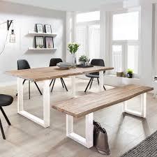 Set Esszimmer Tisch Sitzbank Emnial 2 Teilig
