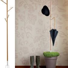 Mini Coat Rack ReCOVER Coatrack Is A Mini Ecosystem For Your Planters 2