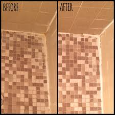 how to revive your shower tile and grout