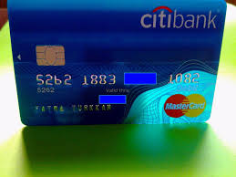 Citi Design Build Pte Ltd Usa Citi Bank Mastercard Semi Transparent Design Card